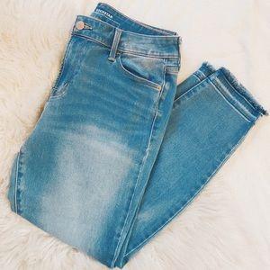 Old Navy | Secret Soft Rockstar Frayed Hem Jeans